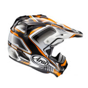 Arai MX-V Speedy orange 2