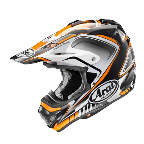 Arai MX-V Speedy orange